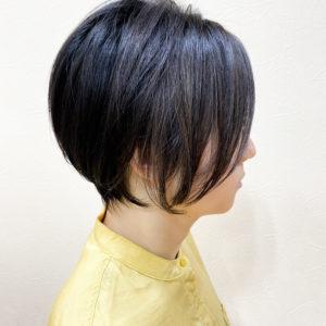 黒髪ショート2